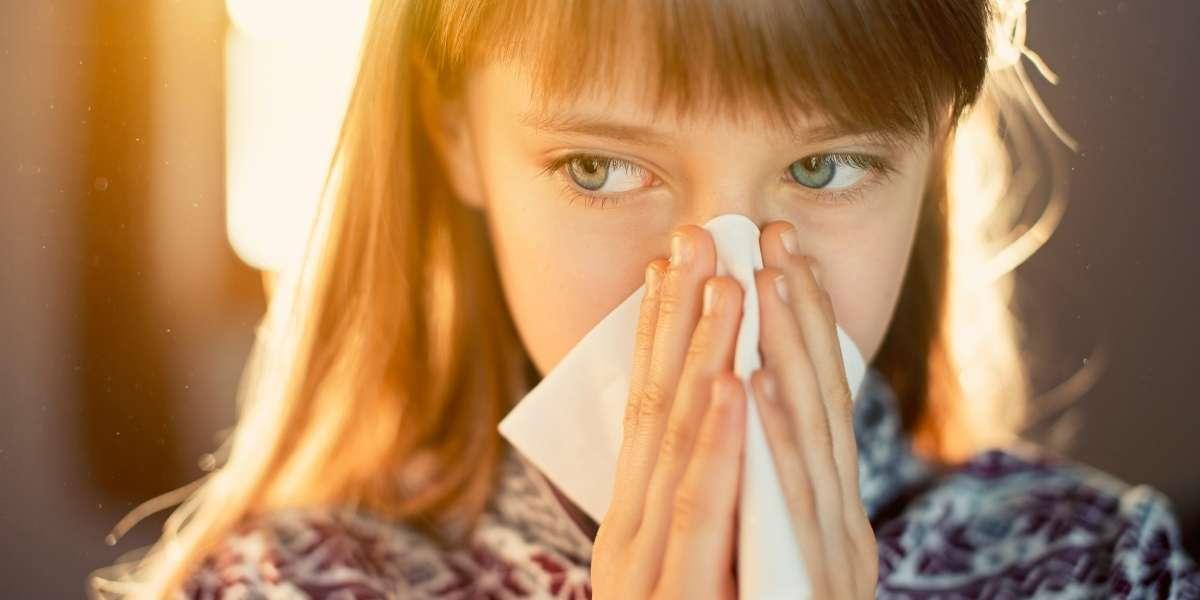 Bambini allergia polline