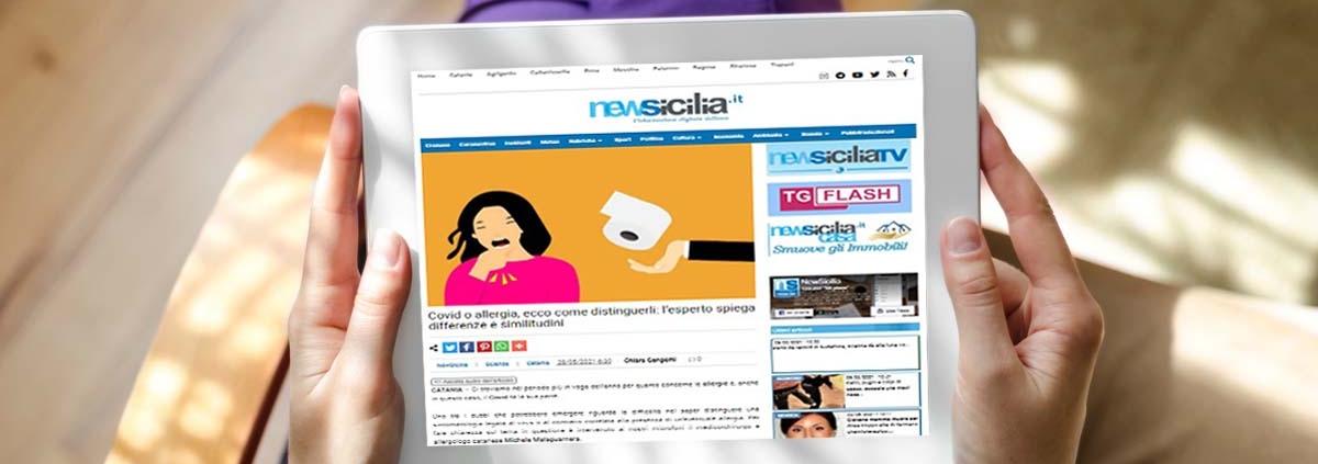 Intervista al dr Michele Malaguarnera su NewSicilia